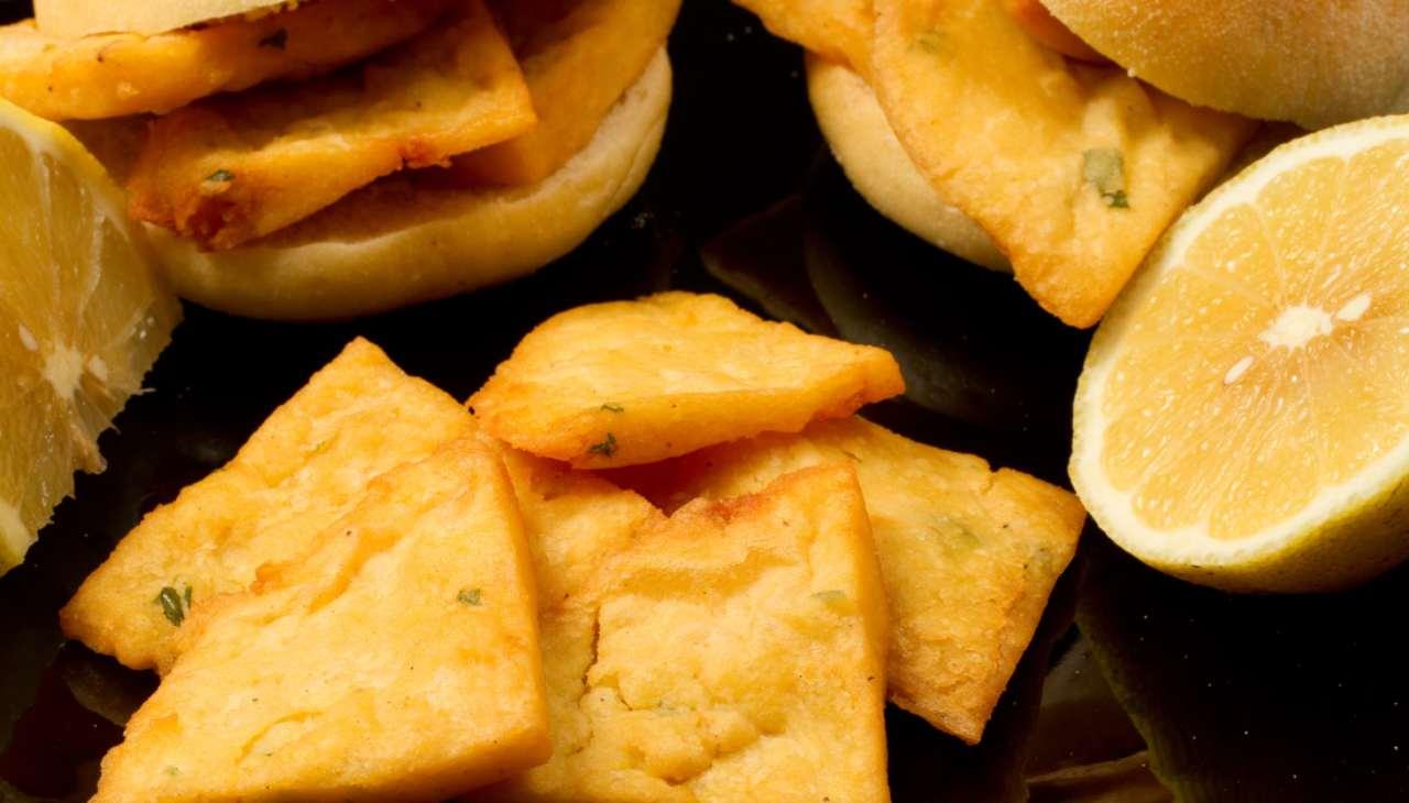 Farinata di ceci fritta