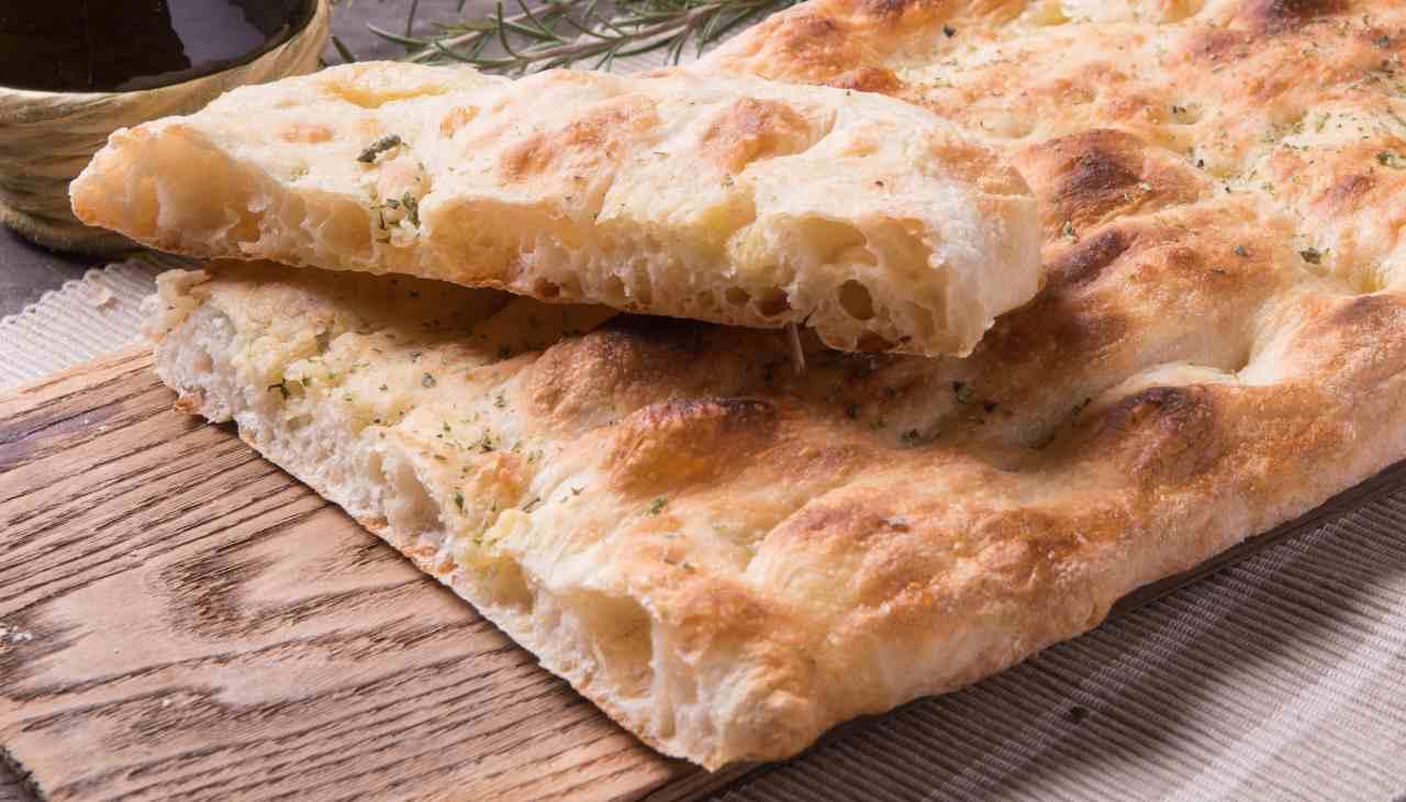 Panepizza ricetta