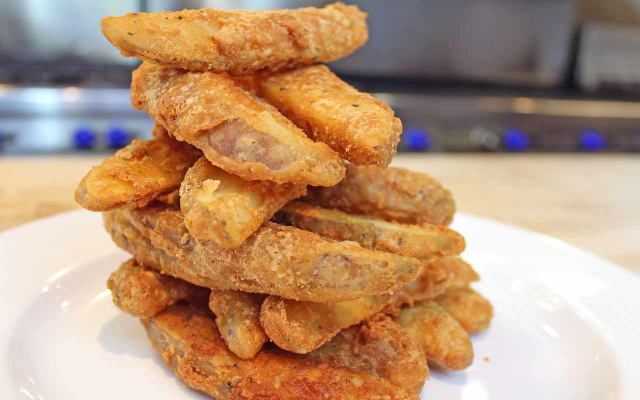 patate croccanti pastella ricetta FOTO ricettasprint