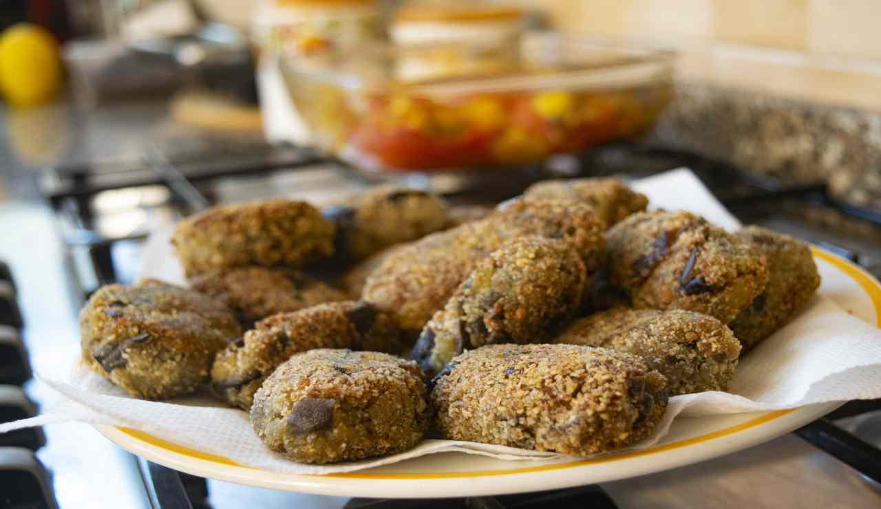 Polpette di melanzane alle olive