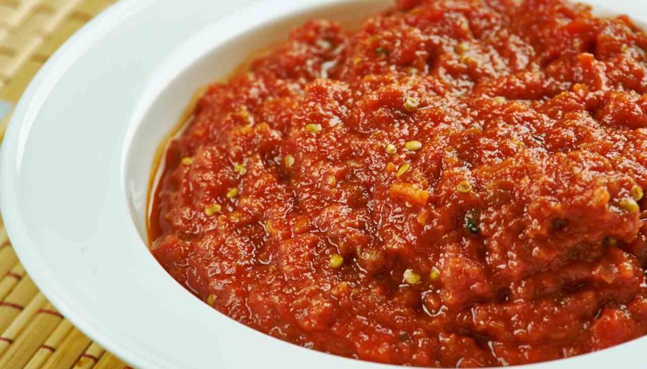 Salsa pomodoro e verdure