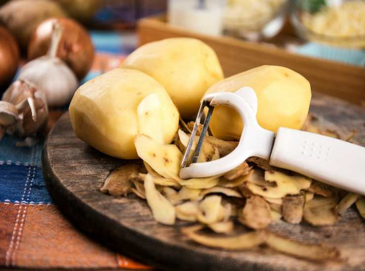 Scaloppina di tacchino in crosta di patate FOTO ricettasprint