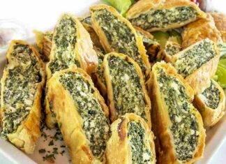 Strudel salato ricotta e spinaci ricetta