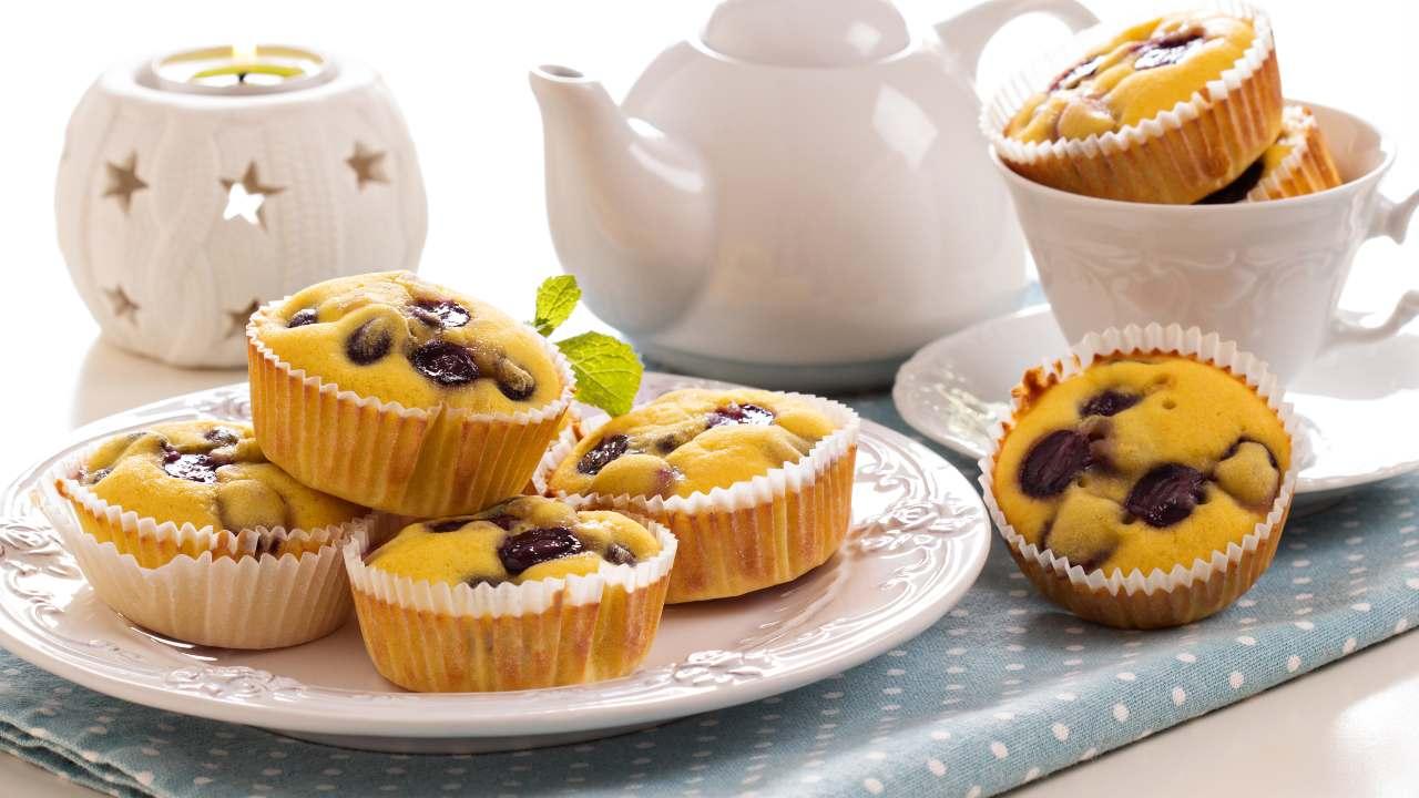 Muffin con uvetta