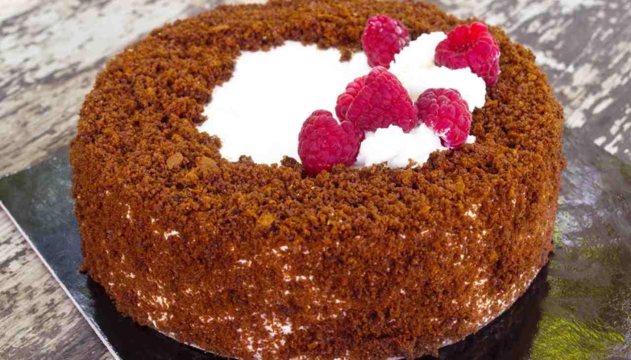 Torta Mimosa cacao e nocciola ricetta