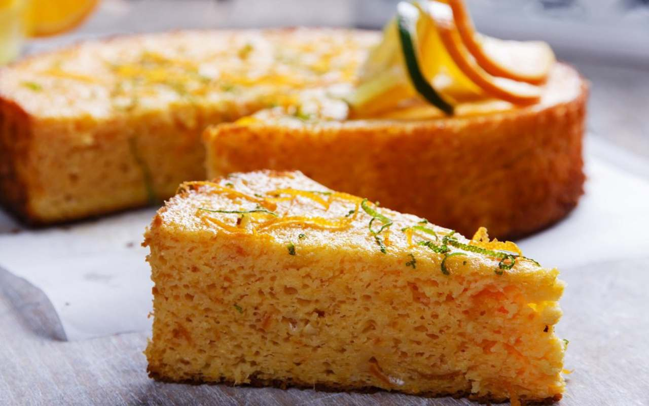 torta arancia limone ricetta FOTO ricettasprint
