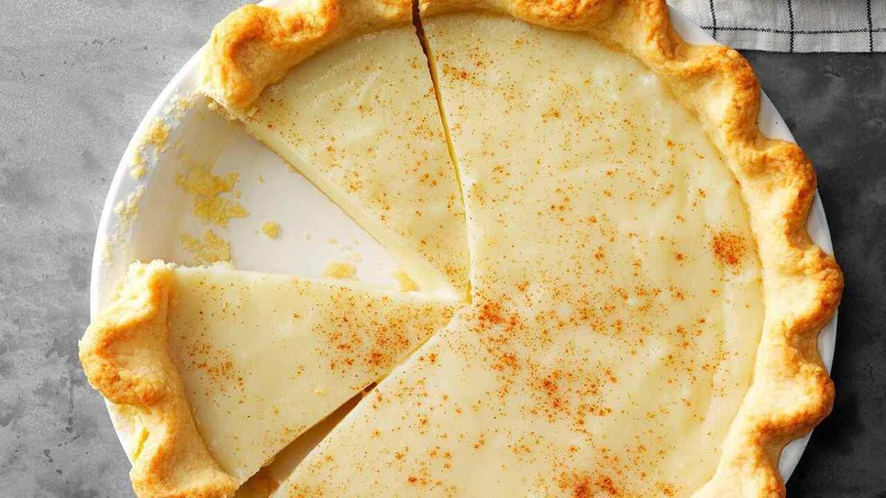 torta crema cotta ricetta FOTO ricettasprint
