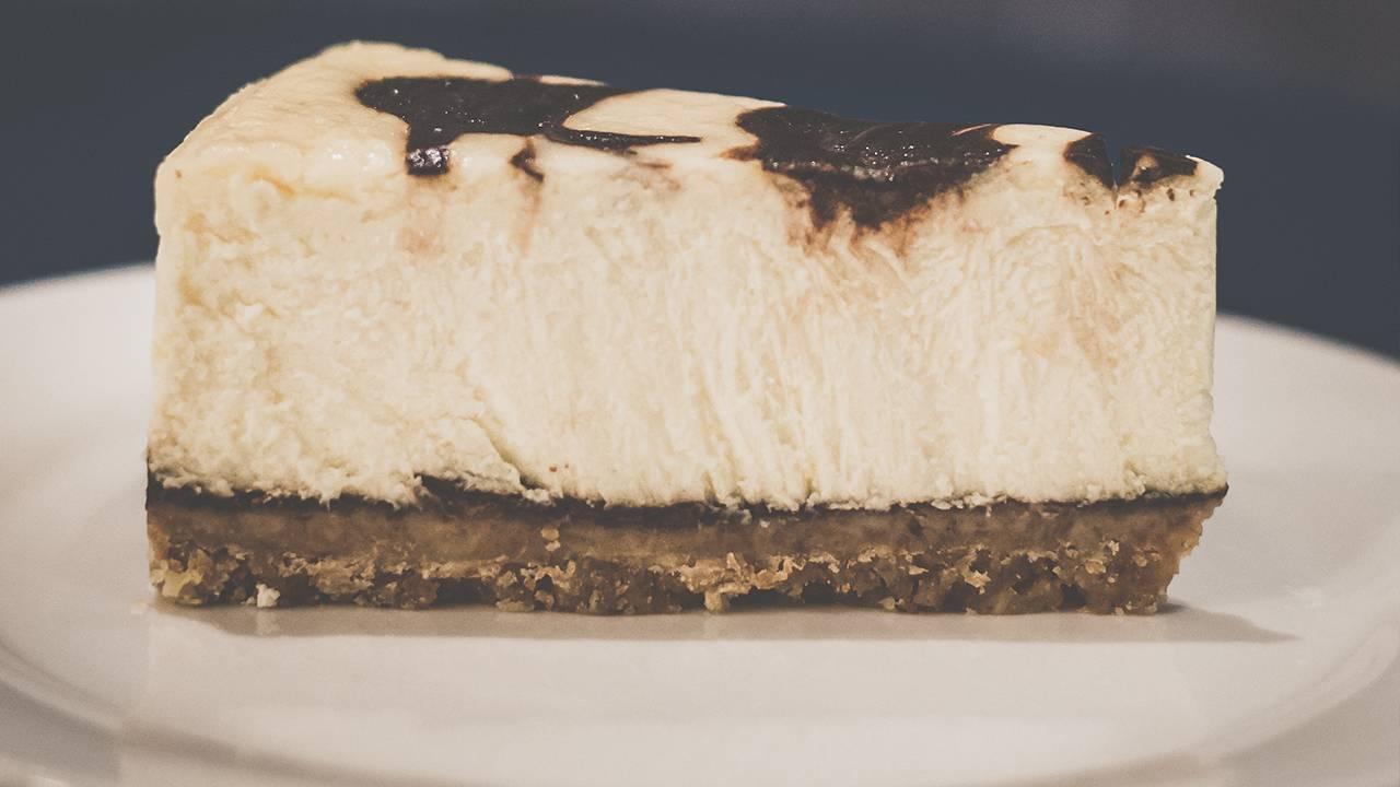 Torta fredda mocaccino e Nutella