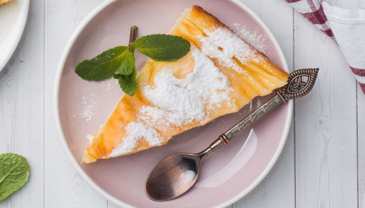 Torta morbida ricotta e arancia Bimby ricetta