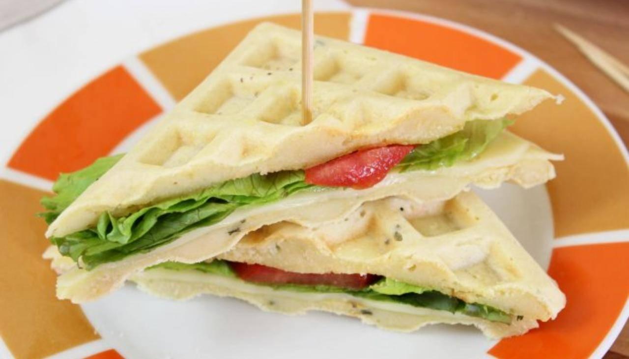 Waffle vegetariani