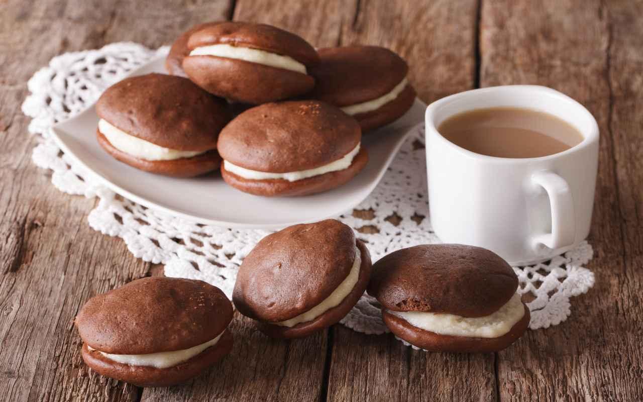 whoopie caffè ricetta FOTO ricettasprint