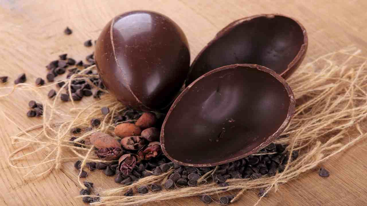come conservare uova di cioccolato Pasqua