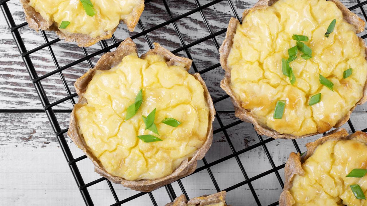 tortini di patate e frolla