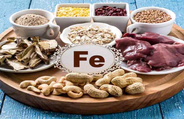Ferro nella Dieta