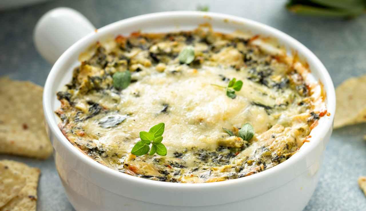 Il riso con spinaci al forno ricettasprint