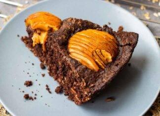 torta integrale cioccolato mele e nocciole ricettasprint