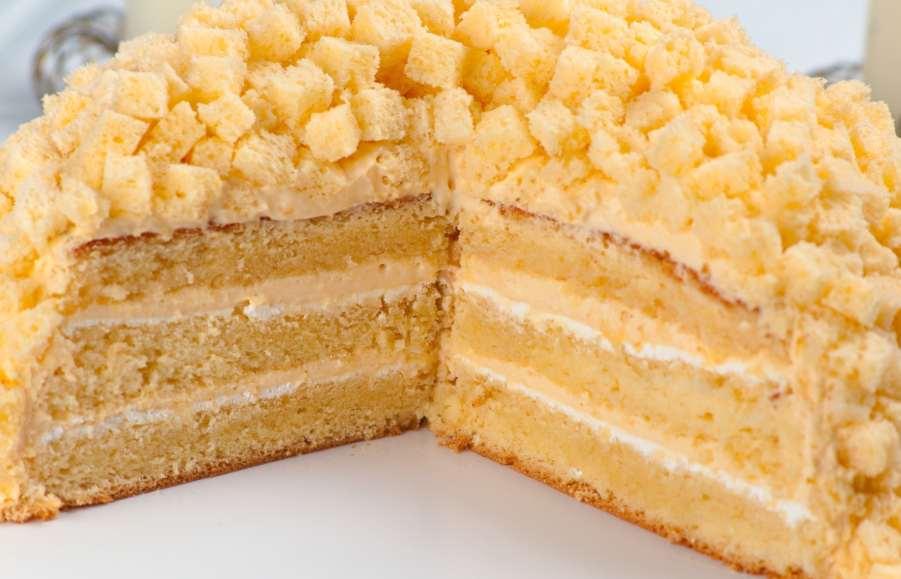 torta mimosa all'arancia ricettasprint