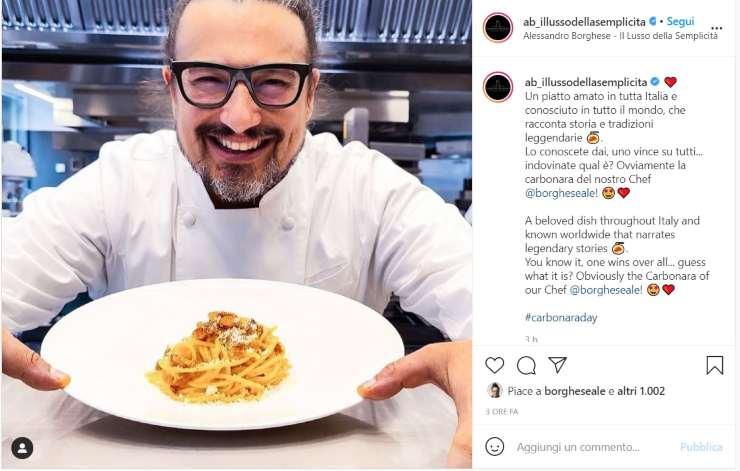 Alessandro Borghese Roberto Valbuzzi Carbonara day - Ricettasprint