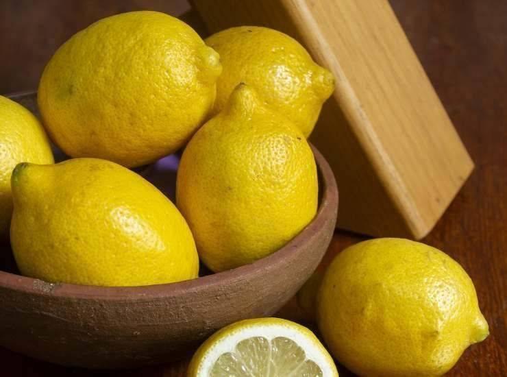 Barrette fredde al limone ricetta