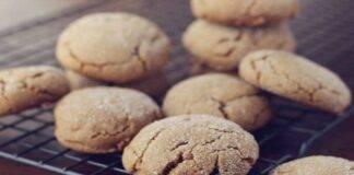 Biscotti di ceci dolci vegan