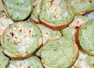 Bruschette con pesto agli asparagi ricetta