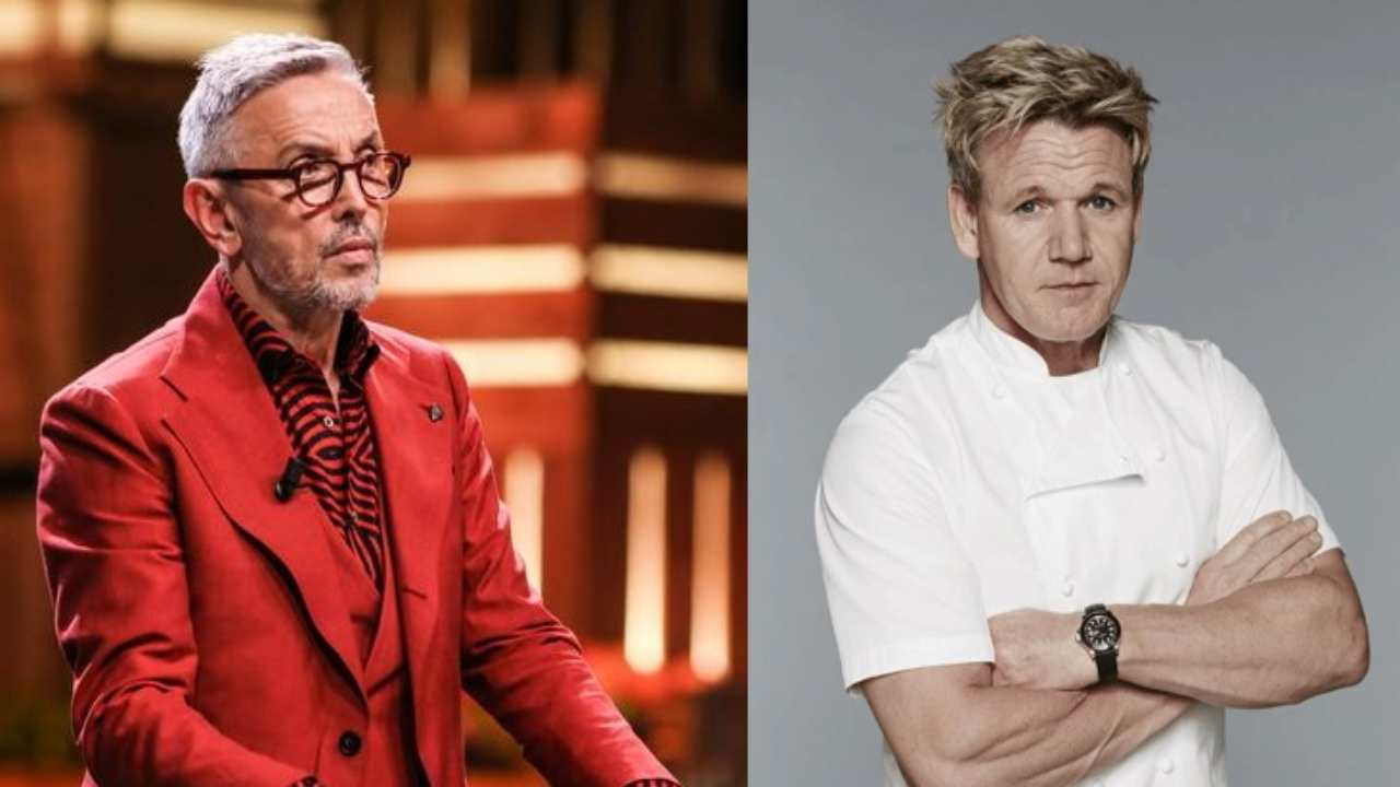 Bruno Barbieri come Gordon Ramsay - RicettaSprint