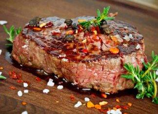 carne rosmarino ricetta FOTO ricettasprint