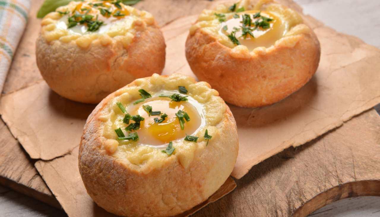 Panini formaggio e prosciutto