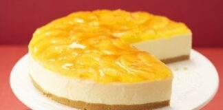 cheesecake arancia ricetta FOTO ricettasprint