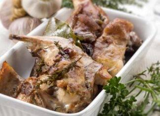 Carne bianca cotta in forno