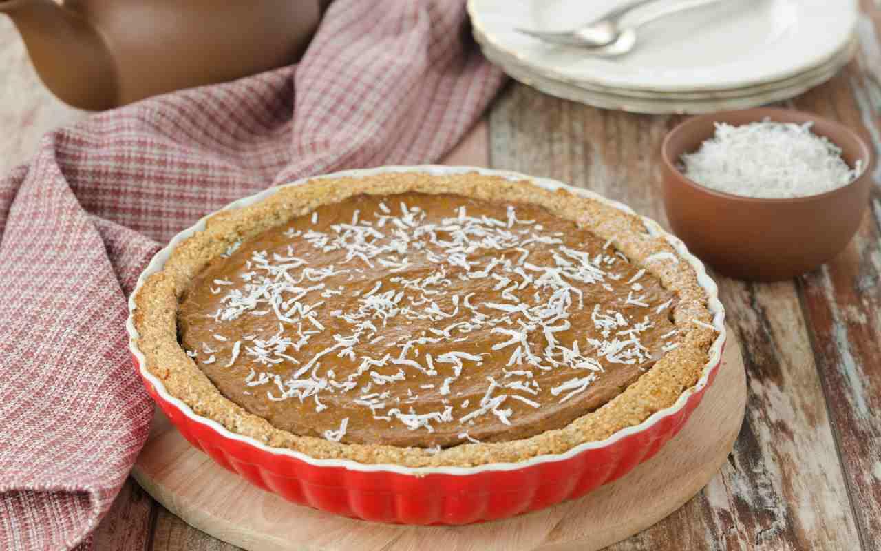 crostata cocco cioccolato ricetta FOTO rciettasprint