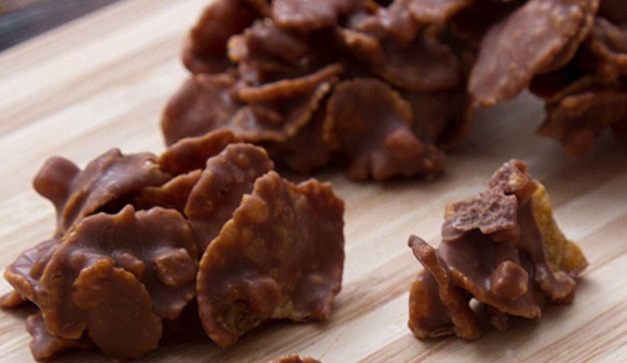 Dolcetti veloci al cioccolato kinder ricettasprint