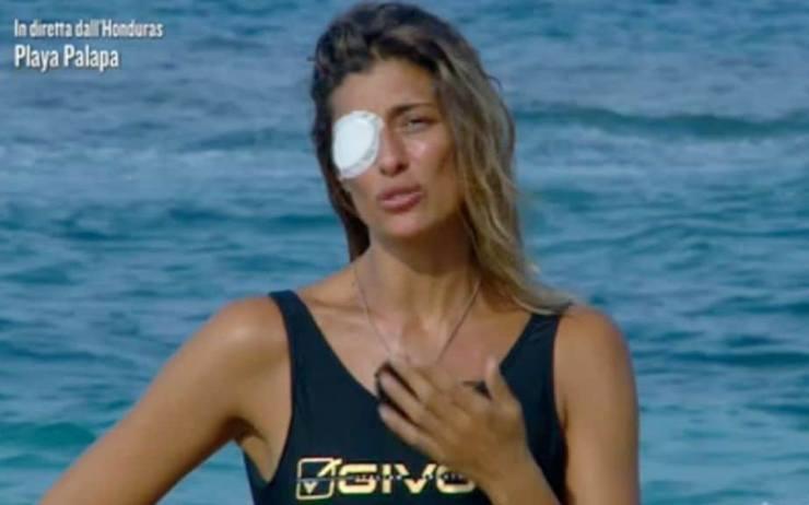 Elisa Isoardi incidente Isola - RicettaSprint