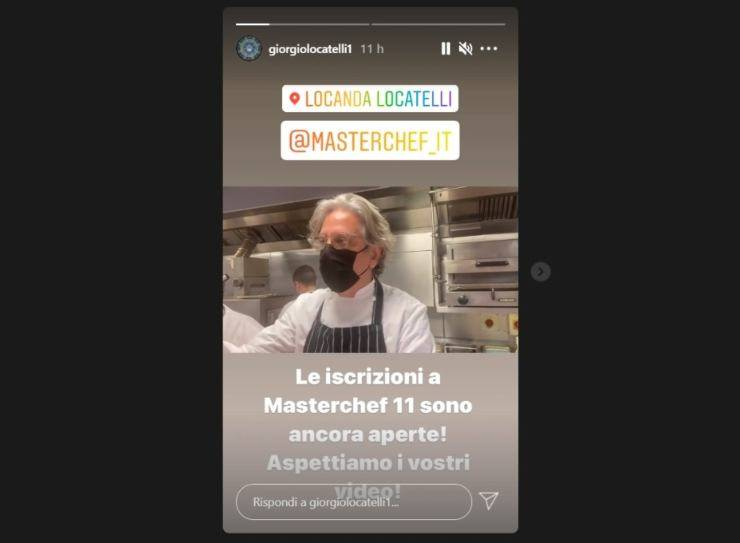Giorgio Locatelli provini MasterChef - RicettaSprint