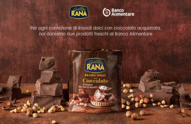 Giovanni Rana e Banco Alimentare