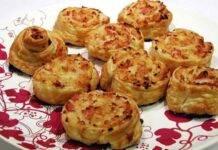 Girelle crema al formaggio e speck ricetta