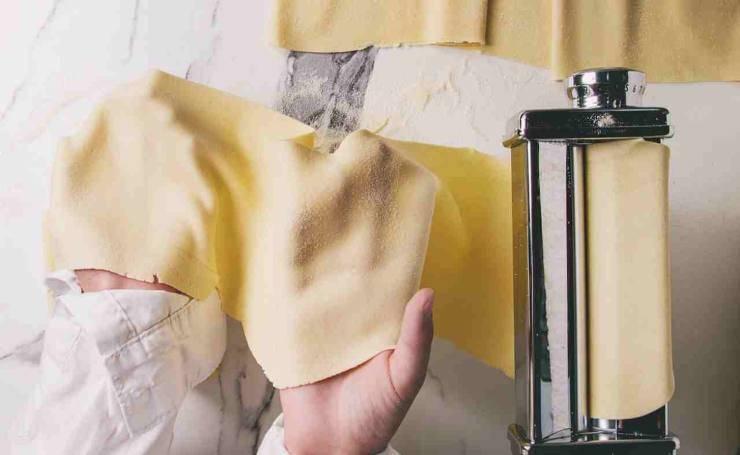 Pasta fresca con ricotta