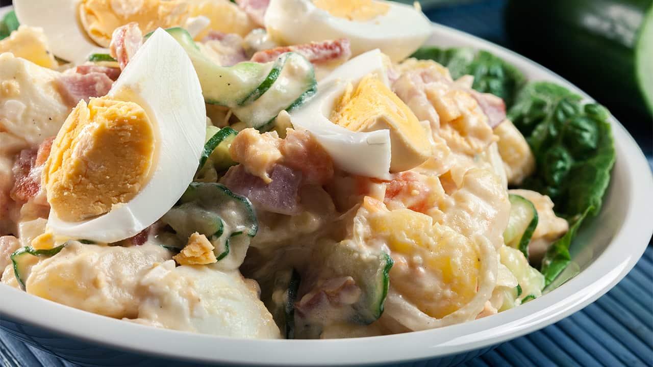 Insalata tonnata con uova