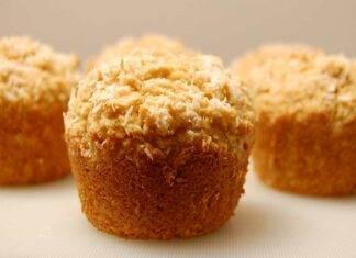 muffin amaretti ricetta FOTO ricettasprint