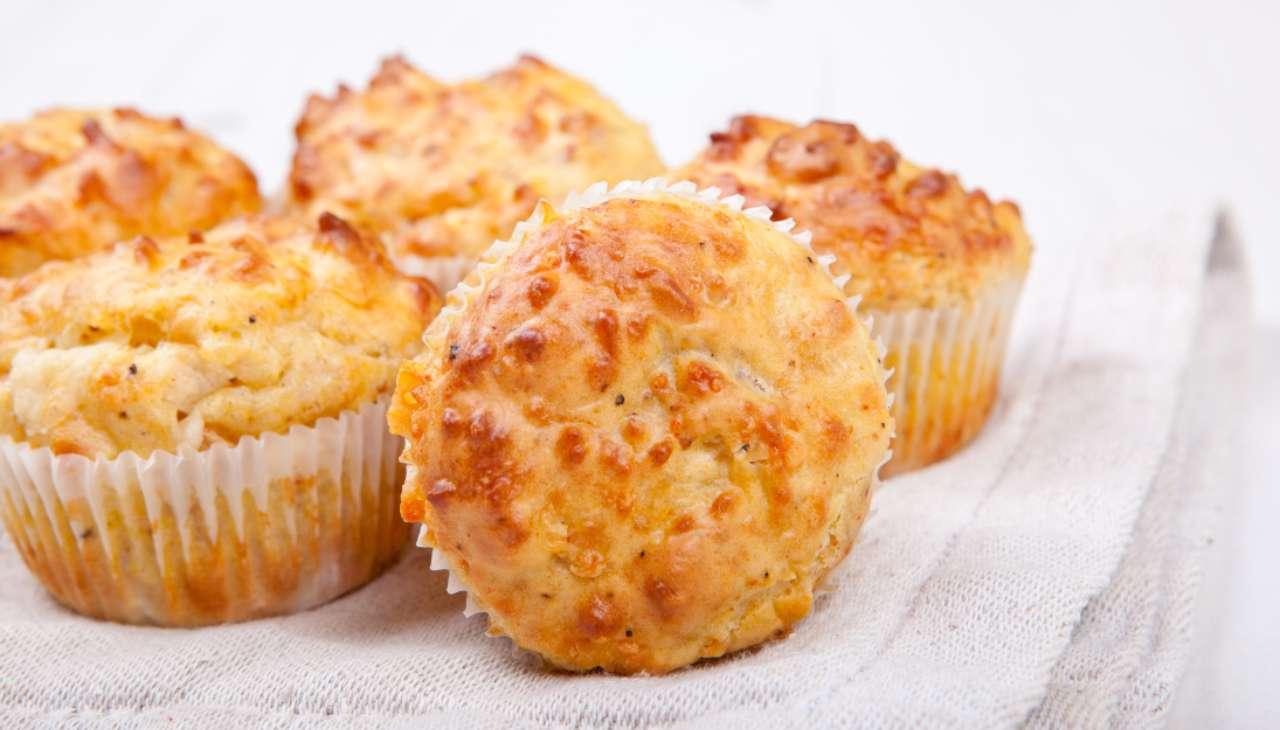 Muffin salati ai tuberi