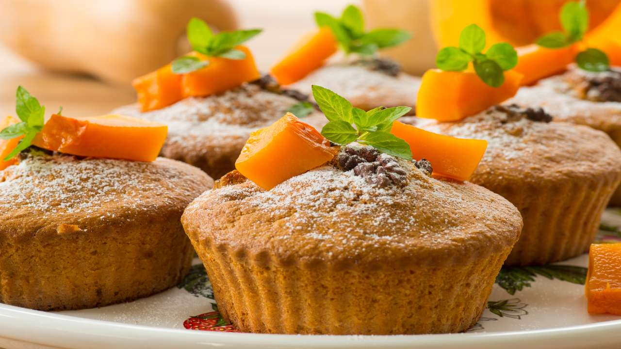 Muffin con noci
