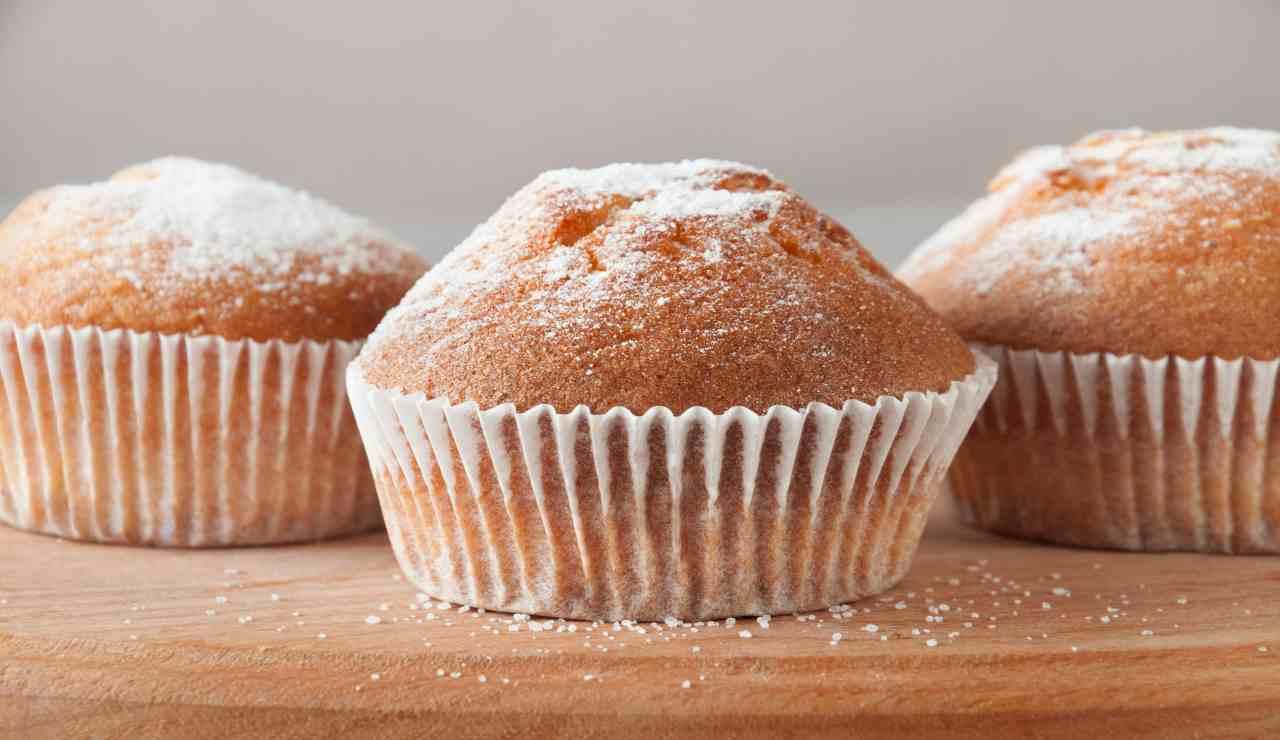 Muffin frullati di arancia e limone