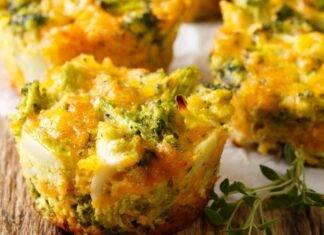 Muffin verdura e carne