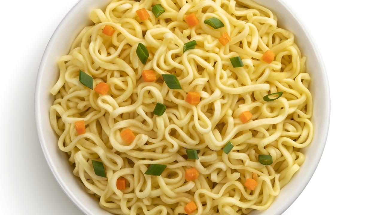 Spaghetti giapponesi con verdure