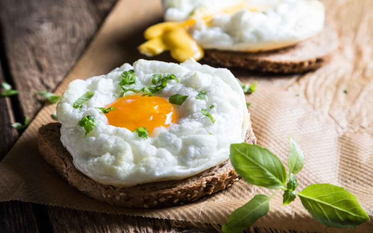 nuvole uova ricetta FOTO ricettasprint
