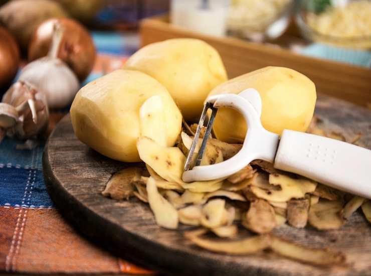 Patate al forno 100 calorie FOTO ricettasprint