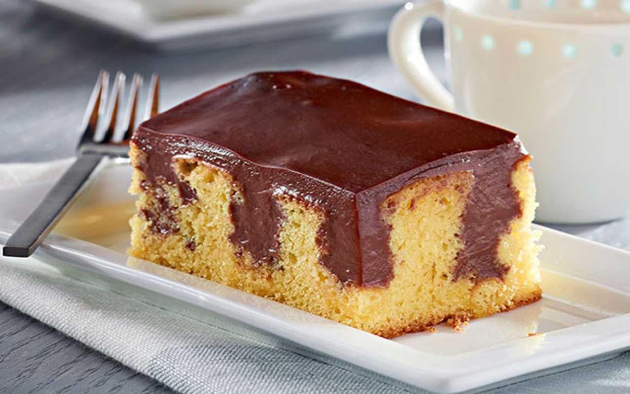 poke cake ricetta FOTO ricettasprint