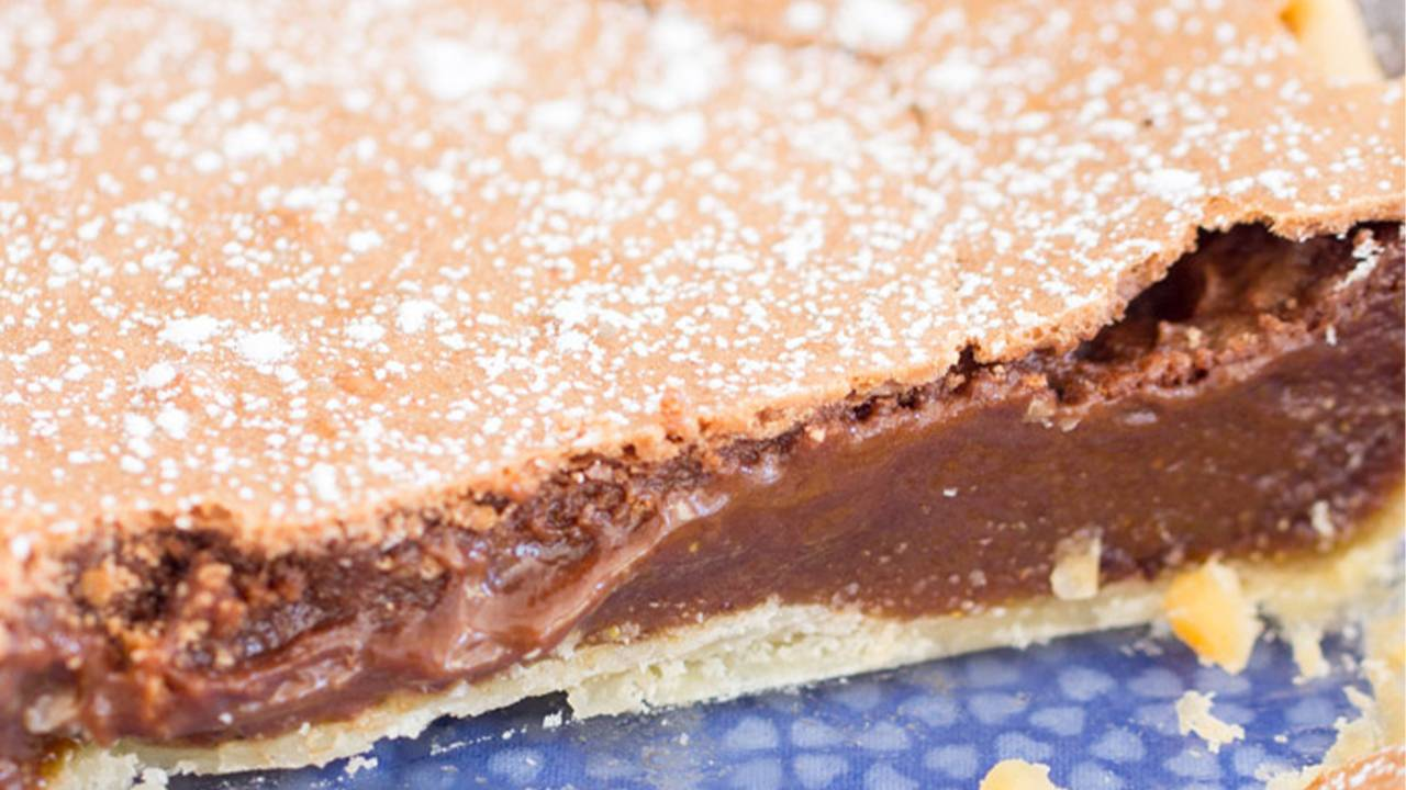 Torta polacca al cacao