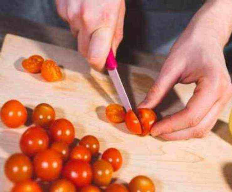 Riso venere con pomodorini FOTO ricettasprint