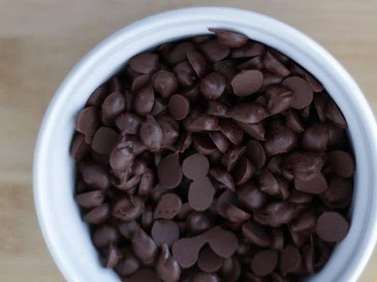 Dolce con ricotta e cioccolata